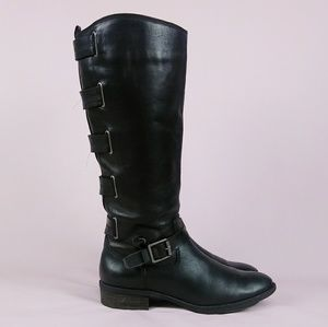 Arturo Chiang Elsie Riding Boot Leather sz 8
